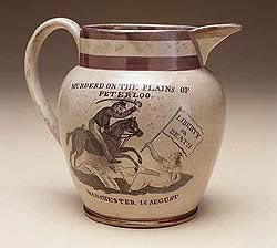 A commemorative jug