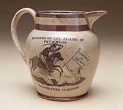 A commemorative jug