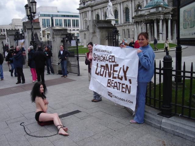 ARAN's Nude Demo Makes Headlines Again - Indymedia Ireland