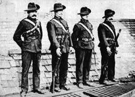 Citizen Army on the roof of Liberty Hall