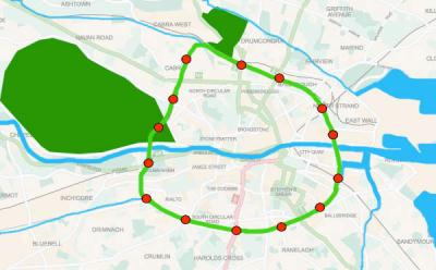 botanic spine - a proposed greenway for dublin city