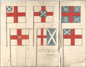"original designs for ""Union Flag"""