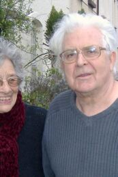 Playwright Margaretta D'Arcy and John Arden, in Galway