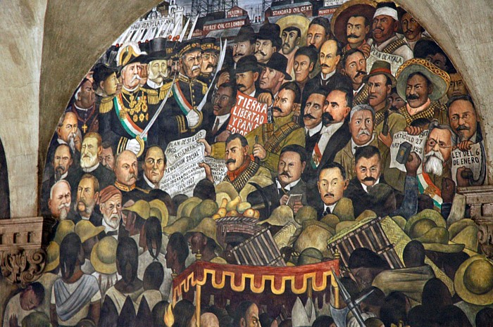 Depicting the worldwide crisis indymedia ireland for Diego rivera mural 1929