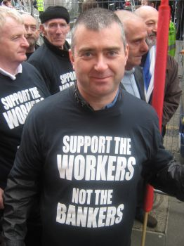 Workers on National Demo, 21st Mar 09