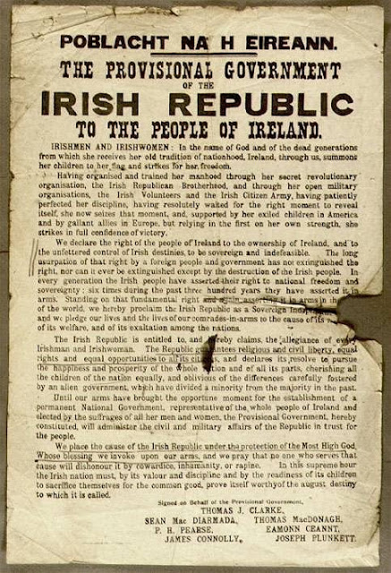 Proclamation of the Irish Republic, 1916