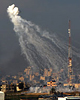 Daylight White phosphorus illegal bombardment: Israel Using Banned and Experimental Munitions in Gaza