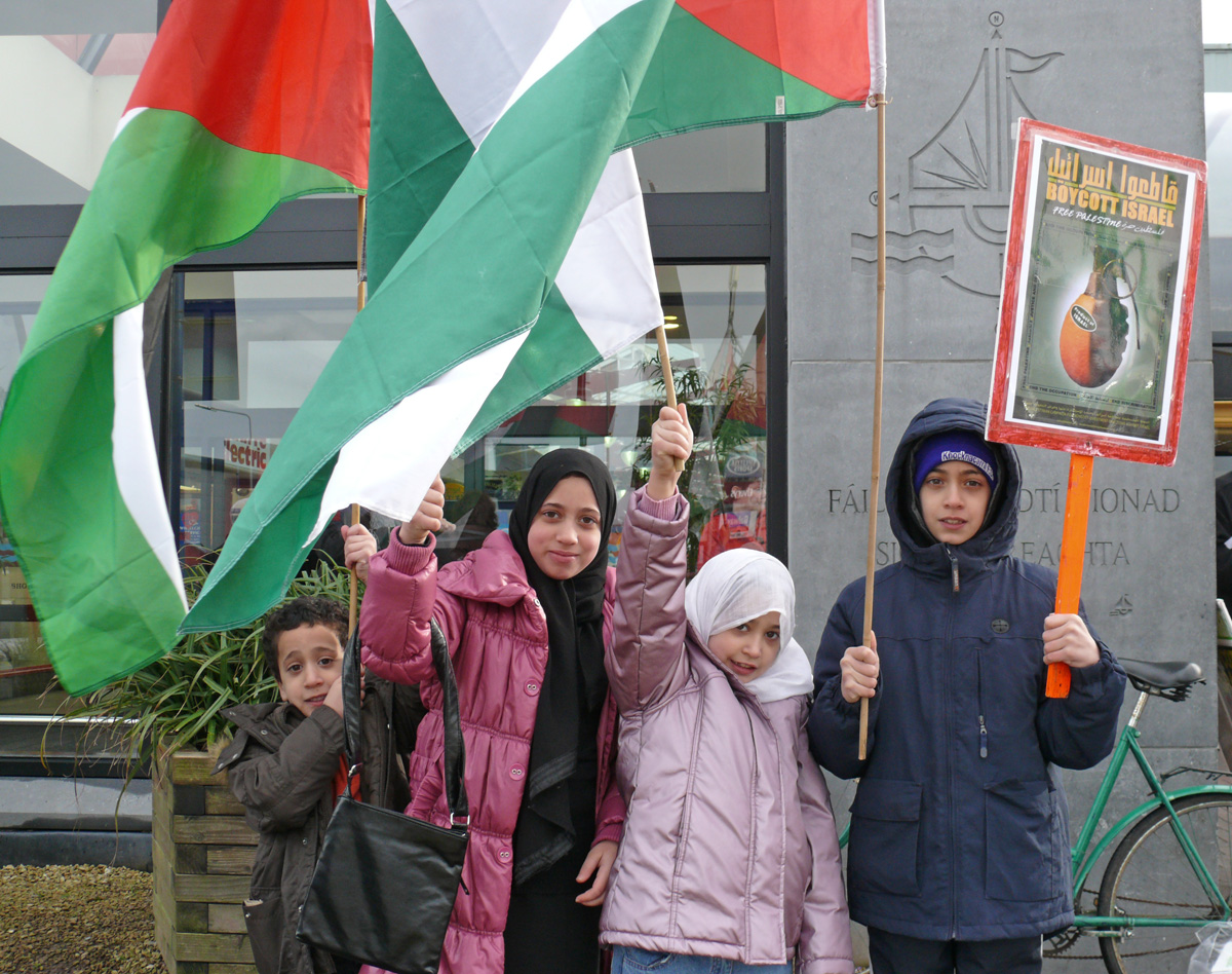 Galway : Boycott Israeli Goods Campaign Continues Apace