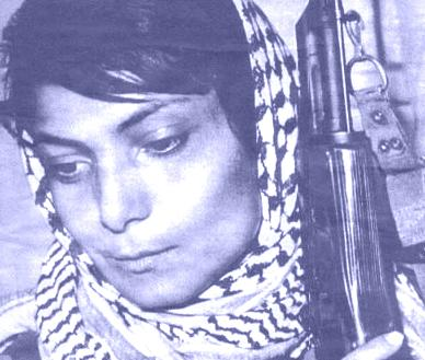 Lelia Khalid, hijacked planes for the arabs in the 70s. had plastic surgery to go on doing it.