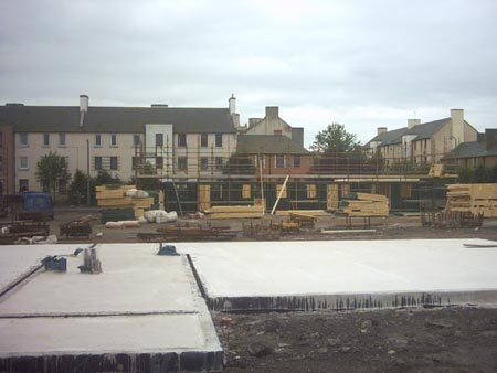 New social housing construction.