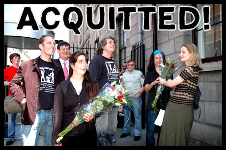 Acquitted!