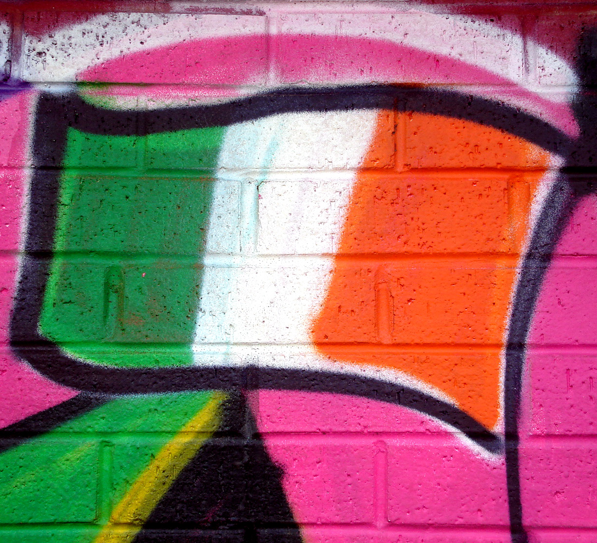 the graffiti is on the wall images indymedia ireland