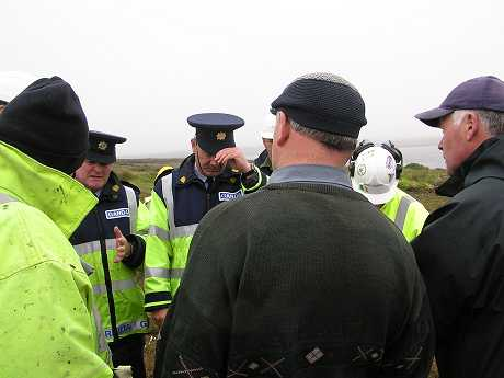Senior Garda refusing landowner's request to identify Shell workers