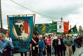 Crowds March in Bodenstown!