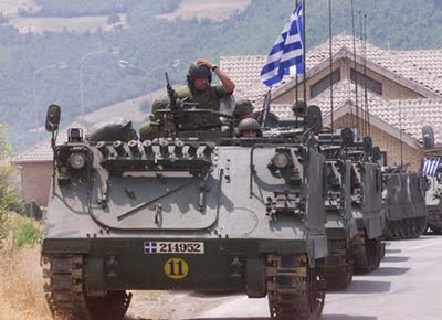 German Hun press bounces CIA bollox that Greek army might launch coup d'etat with e-coli cucumbers.