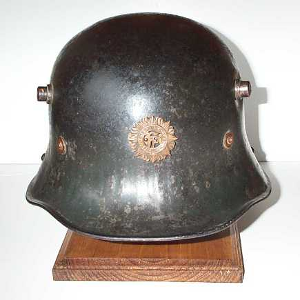 the Irish Free State army helmet made by the Uniform Fairies in England