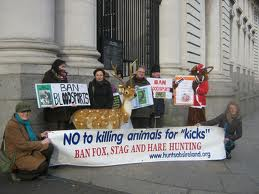 Demo calls for wildlife protection in Ireland