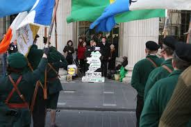 Easter Monday 2014 , Dublin : RSF Easter Commemoration, GPO , 2pm.