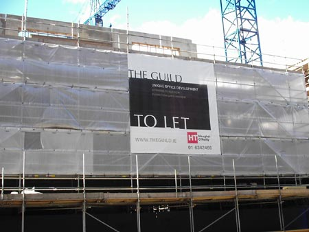 "The Guild - ""exclusive"" office development up the road."