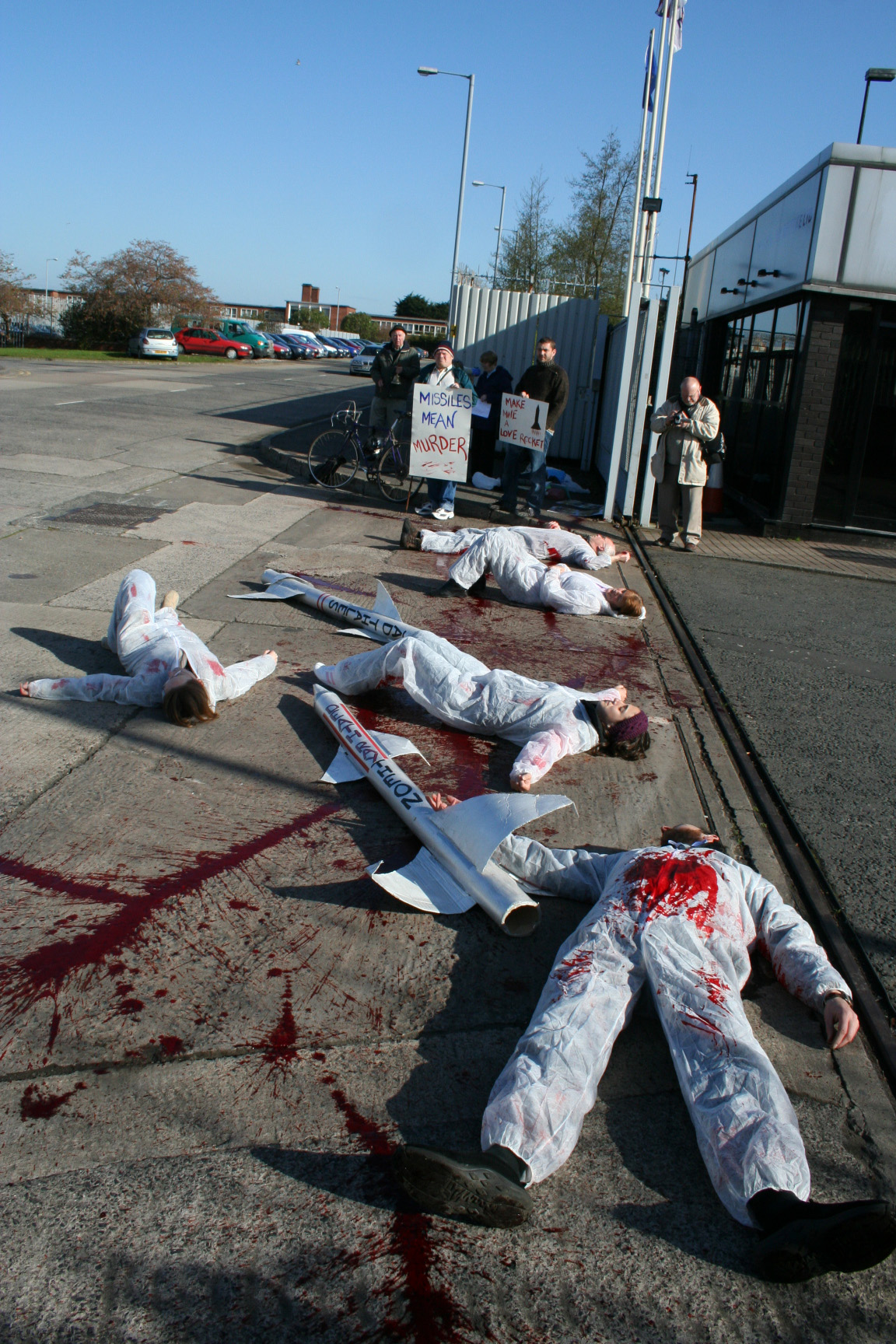 Belfast Anti War Group Exposes The Bloody Truth Of Thales