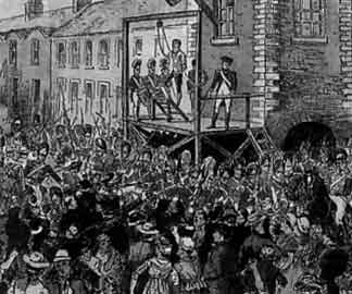 The execution of Henry Joy in Belfast