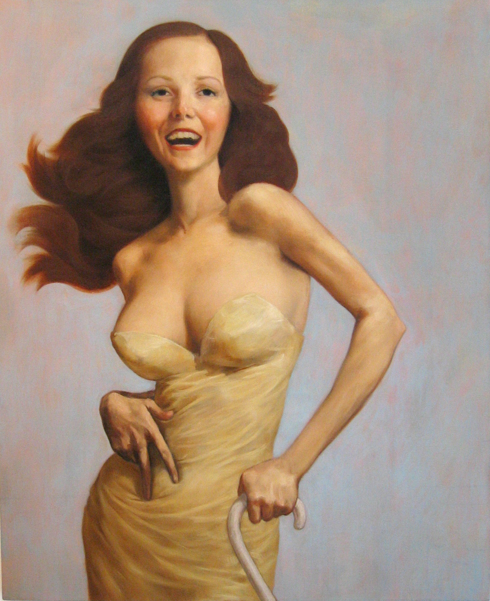 lil lolas http://whateverlolawants.tumblr.com/post/51909867/julianne-moore-as-the-cripple-by-john-currin