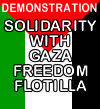 Solidarity with Gaza freedom flotilla