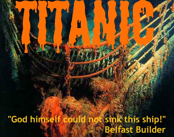 """god himself could not sink this ship The unsinkable titanic  which led many to consider the ship unsinkable an anonymous deckhand famously claimed that """"god himself could not sink this ship ."""