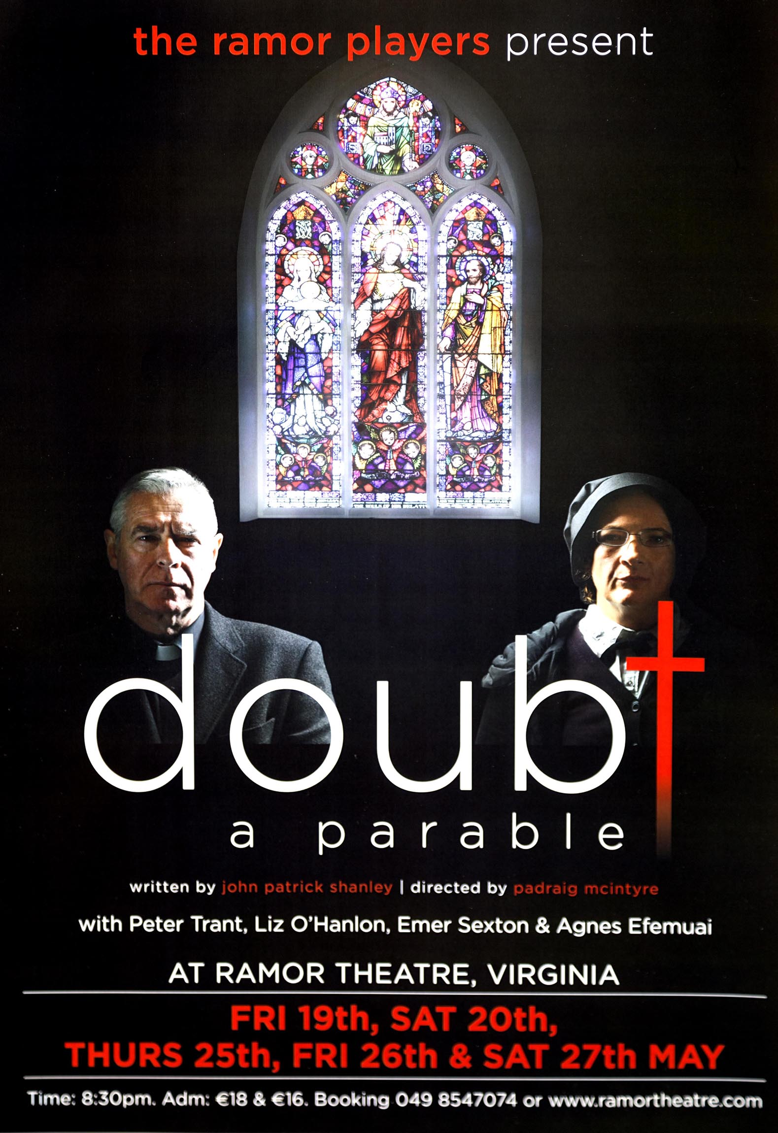 doubt by john patrick shanley The doubt: a parable community note includes chapter-by-chapter summary  and analysis, character list, theme list, historical context  by john patrick  shanley.