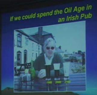 Oil age in terms of Irish Stout. 1900, 2000, 2100 - Colin Cambell