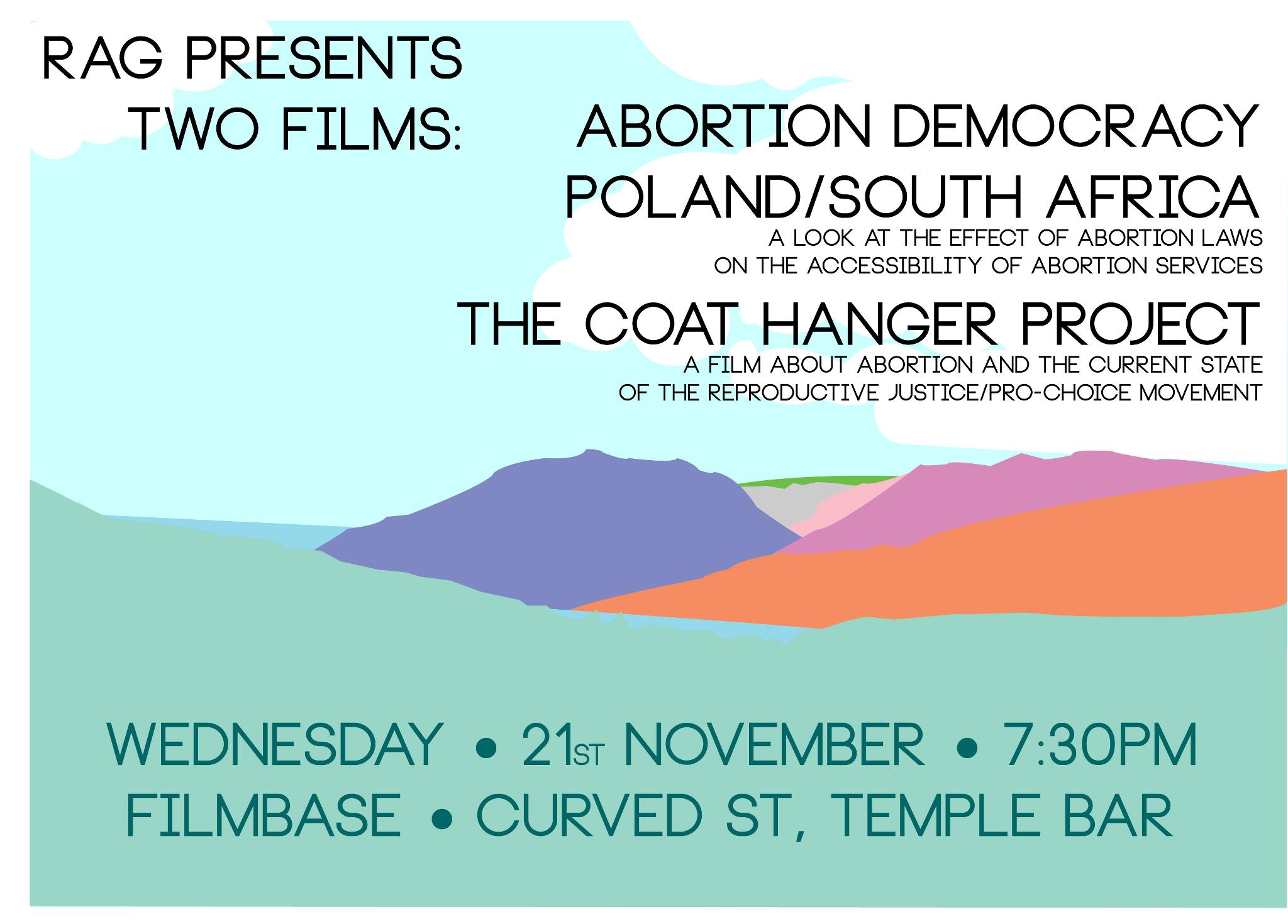 RAG Presents: Two documentary films concerning the legalisation of ...