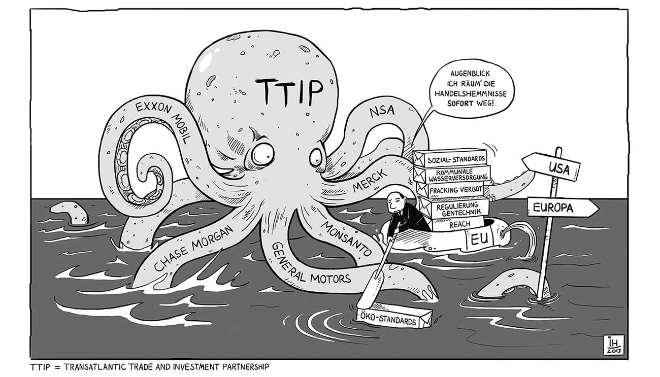 Lacking Trasparency The Transatlantic Trade And Investment