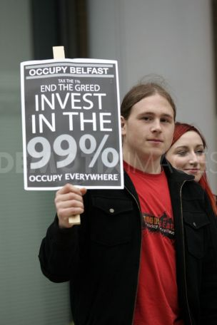 #OccupyBelfast: End the greed. Invest in the 99%
