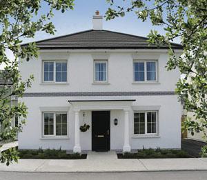 The Katherine, a nice expensive house. Image (c) Owenass