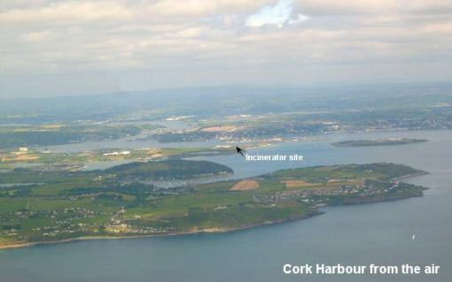 A view of Cork Harbour