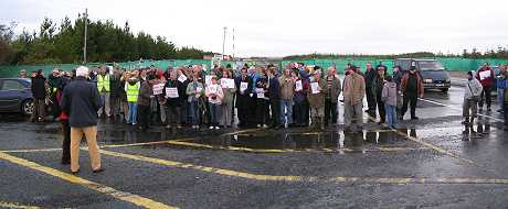 RTE observe as protests continue