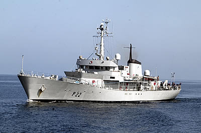 Irish Navy Ship LE Aoife
