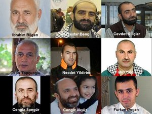 The nine murdered members of the Gaza Freedom Flotilla