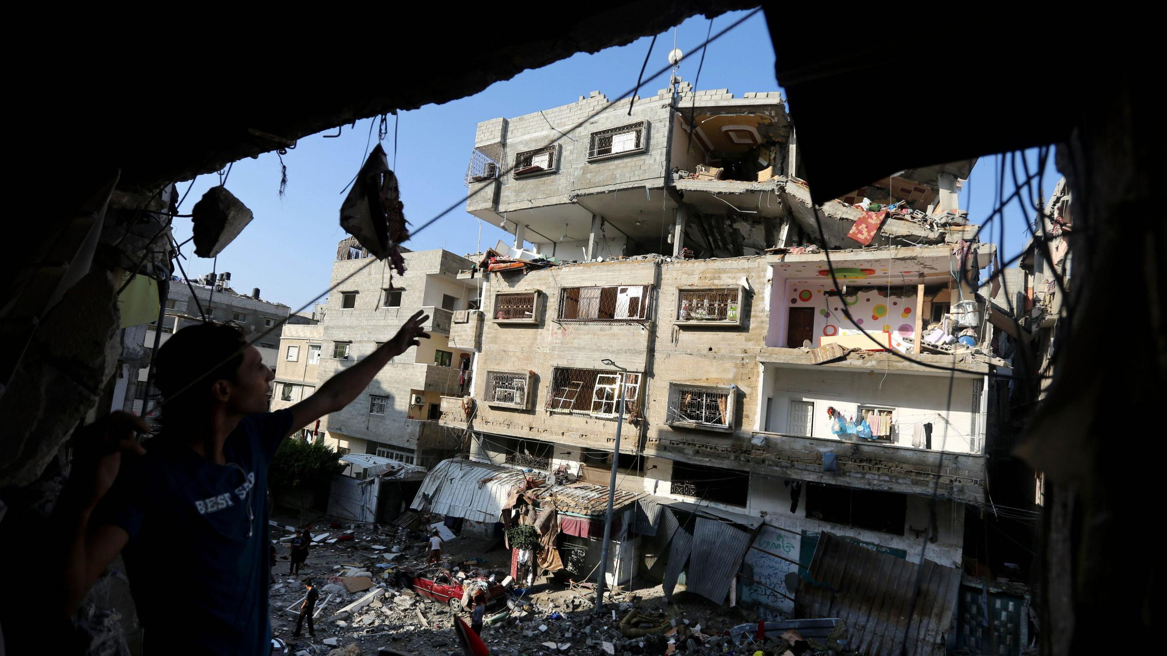 Essay on gaza war