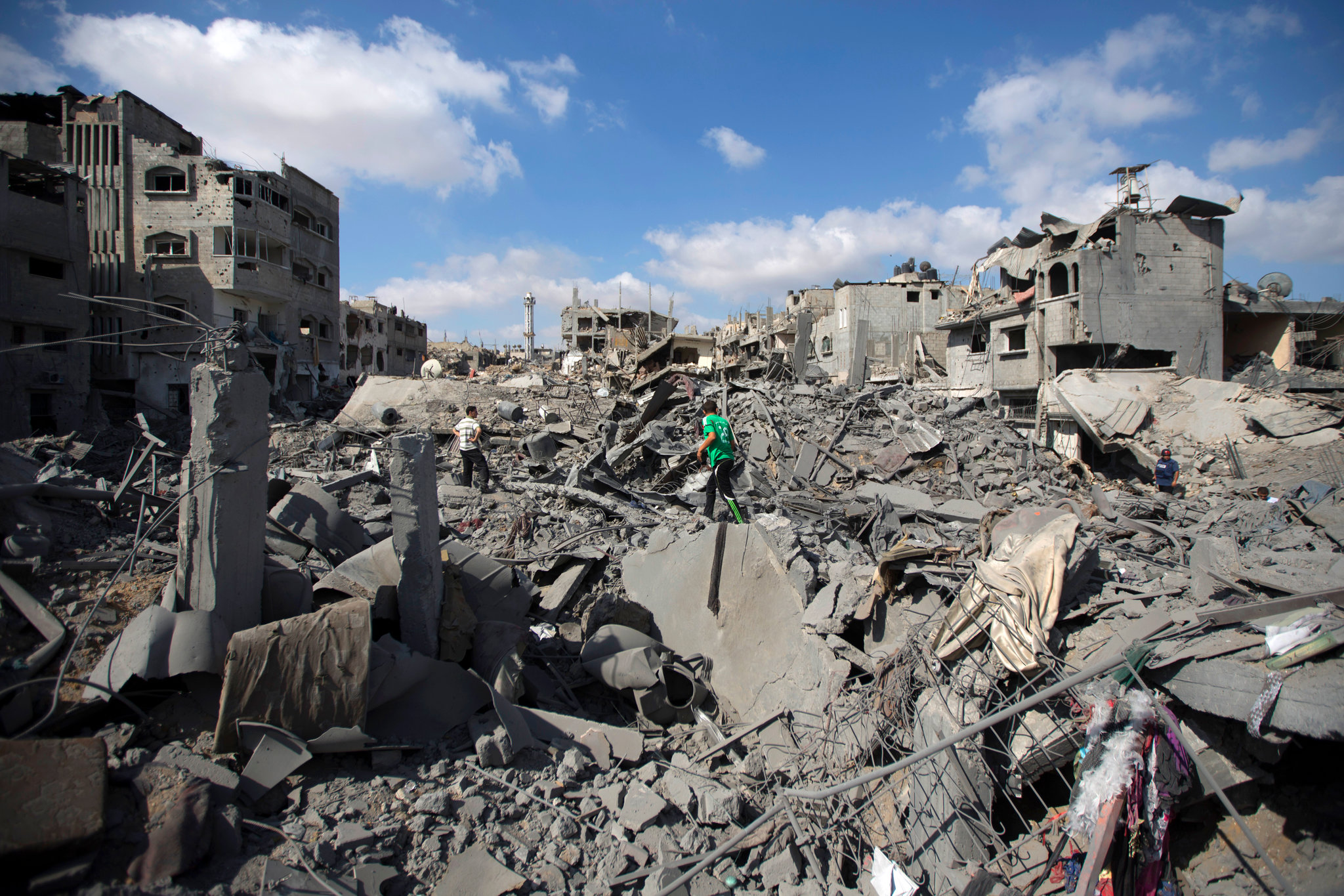 essay about the war in gaza