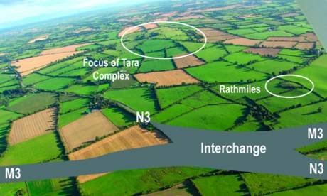 Blundelstown Interchange.  Over 50 acres.  Land owned by Cathal McCarthy