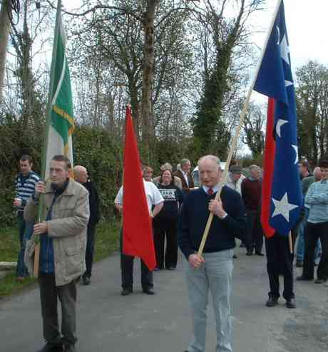 March in commemoration of Jim Gralton