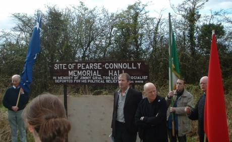 Site of the Pearse Connolly memorial hall