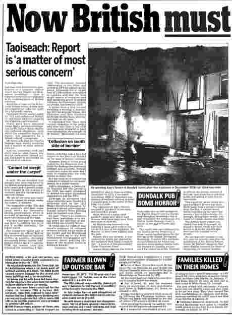 Irish Daily Mail November 30 2006  - feature a (click to read, then left-click to save)