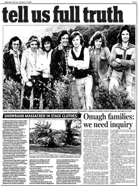 Irish Daily Mail November 30 2006  - feature b (click to read, then left-click to save)