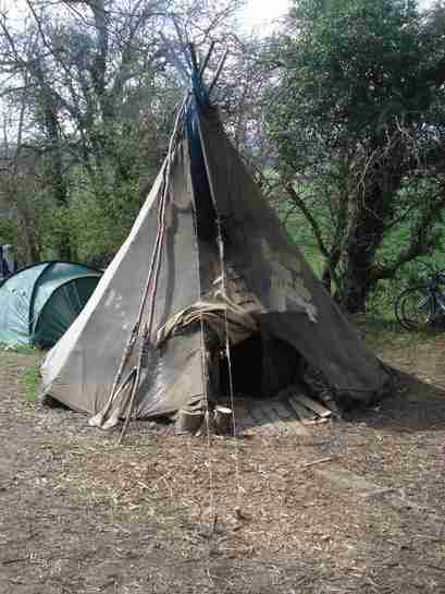 The Vigil's Tipi