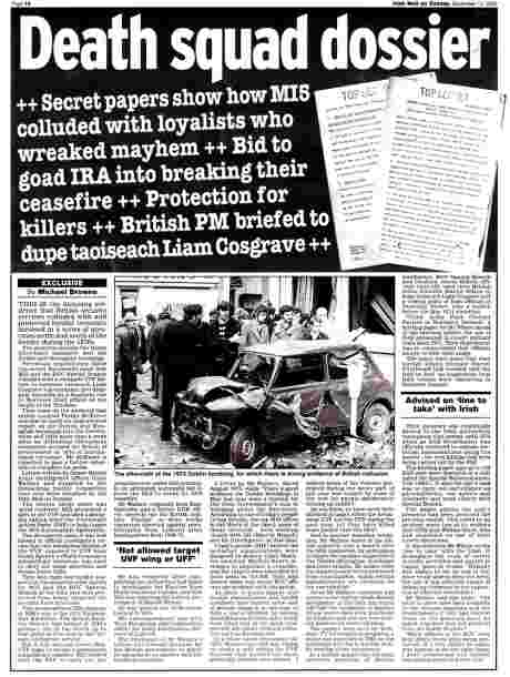 Irish Mail on Sunday December 10 2006 - feature (click to read, then left-click to save)