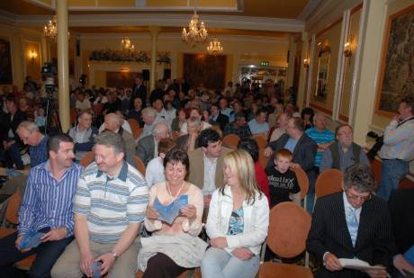 Some of the attendance at the Workers' Party �rd Fheis 21.04.07