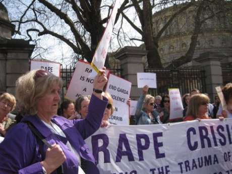 The Rape Crisis Centre banner