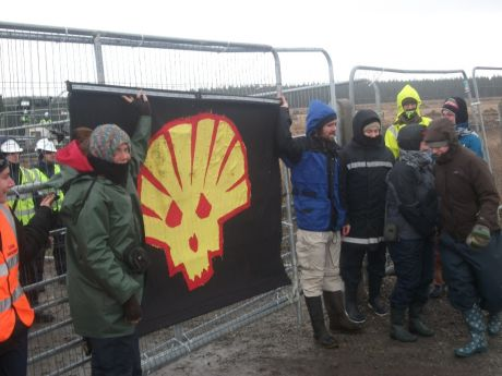 Days of direct action against Shell in Mayo
